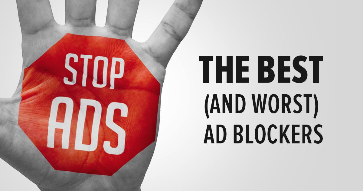 Os melhores (e piores) bloqueadores de anúncio ATUALIZADO