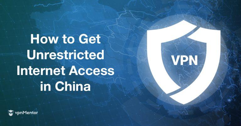 Melhores vpn para china