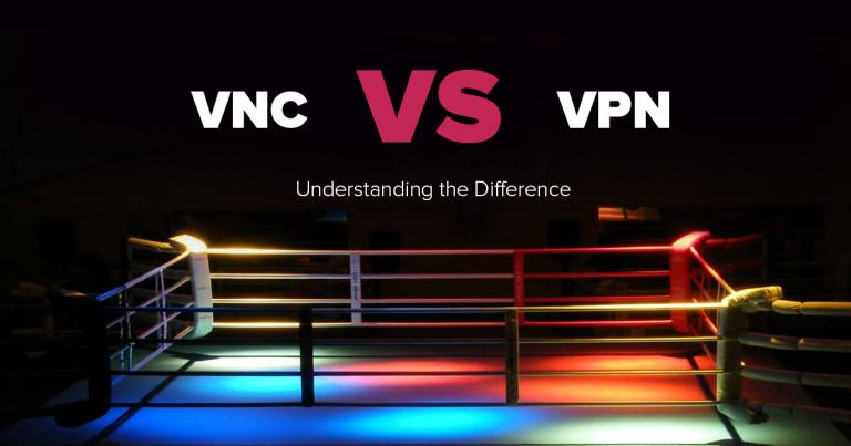 VNC vs VPN