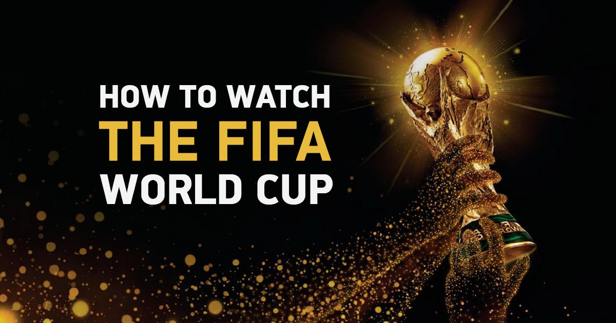 4 formas comprovadas de assistir a Copa do Mundo da FIFA de 2018 de GRAÇA
